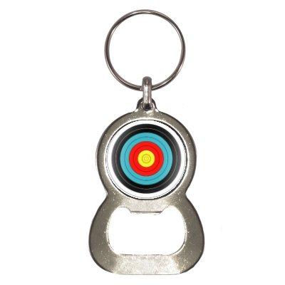 Preisvergleich Produktbild Sporting Bogenschießen Ziel Flaschenöffner Schlüsselanhänger
