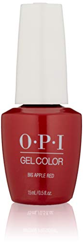 OPI - Gelcolor, Smalto gel per unghie, Big apple red, 15 ml