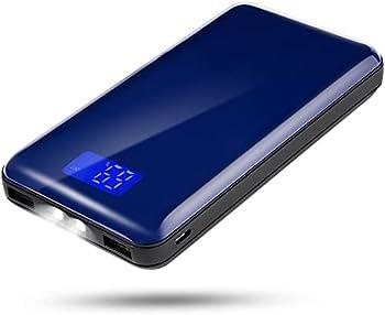 E-SHIDAI 20000mah Mobile Power Supply with Dual USB Port Output