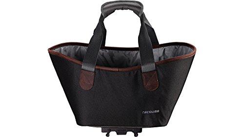 Racktime Unisex-Erwachsene Agnetha Einkaufstasche, Carbon Black, 15 Liter