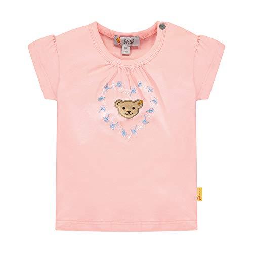 Steiff Mädchen T-Shirt, Rosa (Powder Pink 7010), 74 (Herstellergröße: 074)