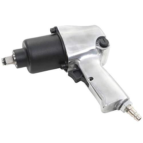 vidaXL Llave Impacto Neumática Metal 1/2' 680 NM Pistola Atornillado Trinquete