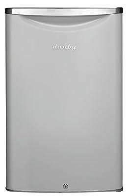 Danby DAR044A6PDB Contemporary Classic 4.4 Cu.Ft. Mini Fridge in Pearl Metallic White with Lock