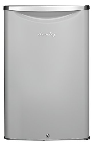 Danby DAR044A6PDB Contemporary Classic 4.4 Cu.Ft. Mini Fridge in Pearl Metallic White with Lock
