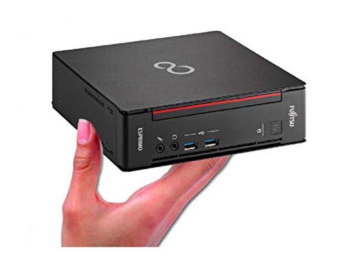 富士通 ミニ PC/ESPRIMO Q556/第6世代Core i3/DDR4 4GB/新品SSD:SSD256GB/Win10 Pro/WiFi/省スペース/静音(整備済み品)