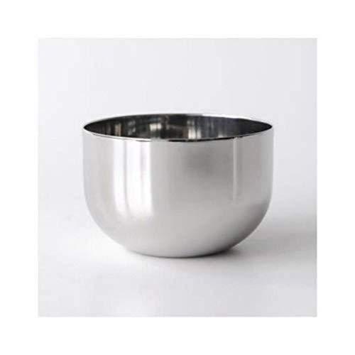 Alessi Bauhaus Zuckerdose aus Edelstahl glänzend poliert, 7.3 cm