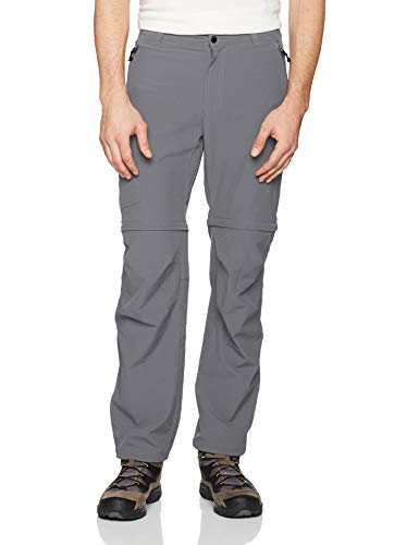 Columbia Herren Wandelbare Wanderhose Triple Canyon, Grau (City Grey), W40/L32