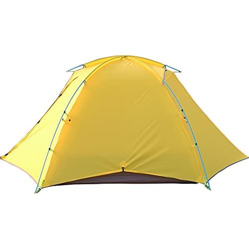 HYAN Tiendas iglú Tienda instantánea 2 Persona Configure fácilmente la Capa Doble Impermeable 3 Temporada campaña para Acampar para Pesca de Senderismo al Aire Libre Tienda de Campaña