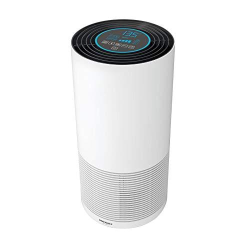 Soehnle Airfresh Clean Connect 500 mit Bluetooth Luftreiniger mit App-Anbindung, Air Purifier reinigt Partikel, Luftreiniger für beste Luftqualität