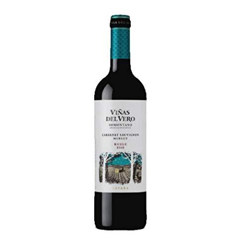 VIÑAS DEL VERO TINTO CABERNET-MERLOT ROBLE, Vino tinto, Somontano
