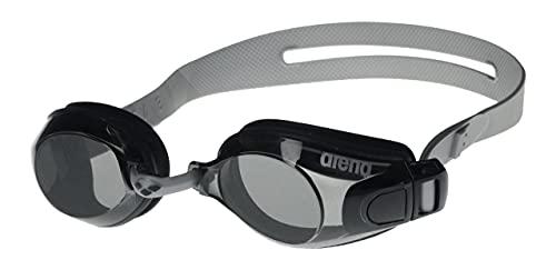 arena Zoom X-Fit Anti-Fog Schwimmbrille Unisex für Erwachsene, Schwimmbrille mit Breiten Gläsern, UV-Schutz, Selbstjustierender Nasensteg, Silikon Dichtungen