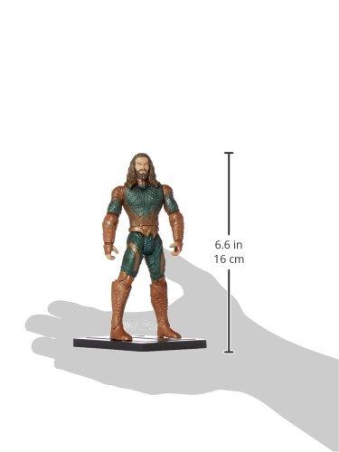 Mattel DC Comics Justice League Aquaman Logo Plates 6 Inch Figura De Acción 5