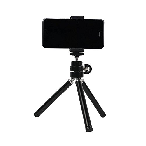 This Black Tripod is a Mini, Light Weight Tripod, which is Placed on The Table and can Hold The Mobile Phone to Watch Videos and take Photos. You can Also Play The Camera, You can take Pictures.