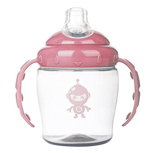 AnXiongStore Robot de impresión PP Duckbill Cup Entrenamiento para bebés Taza para Beber Hervidor para bebés Taza de Bebida de Aprendizaje con Doble asa