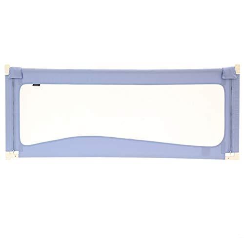 Barrière RQ Rail de lit de Taille de 80 centimètres for l'enfant en Bas âge/Infantile, Protection portative de Balustrade de Berceau (Color : Purple, Size : L-220cm)
