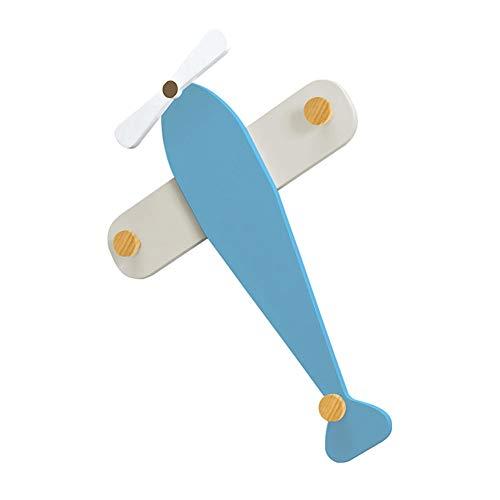 CSQHCZS-JSD kinderkamer creatieve vliegtuig kledinghaken, decoratieve haken kleding-hoed-sleutel-frame MDF-instaphaken ++