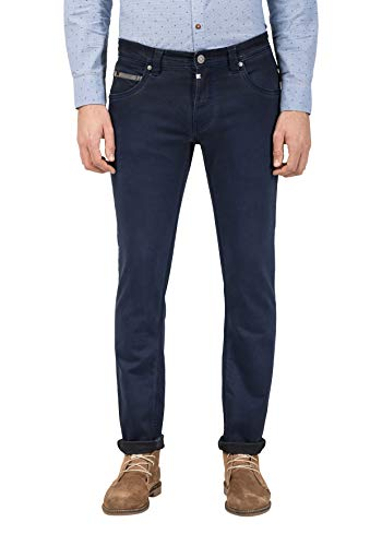 Timezone Slim Scotttz Pantaloni, Blu (Washed Indigo 3411), W30/L32 (Taglia Produttore: 30/32) Uomo