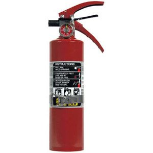 2 1/2 lb ABC Fire Extinguisher w/Vehicle Bracket