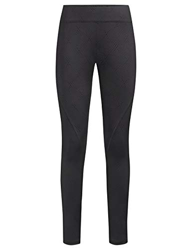 VAUDE Damen Hose Women's Skomer Tights, Leggings, Wanderhose, phantom black, 46, 413336780460