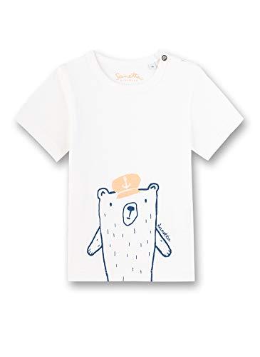 Sanetta Baby-Jungen T-Shirt, Beige (Beige 1829), 86 (Herstellergröße: 086)