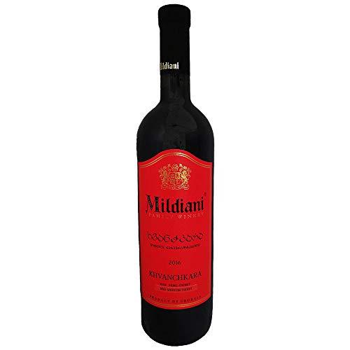 Mildiani Rotwein Khvanchkara 0,75L georgischer Wein lieblich Chwantschkara