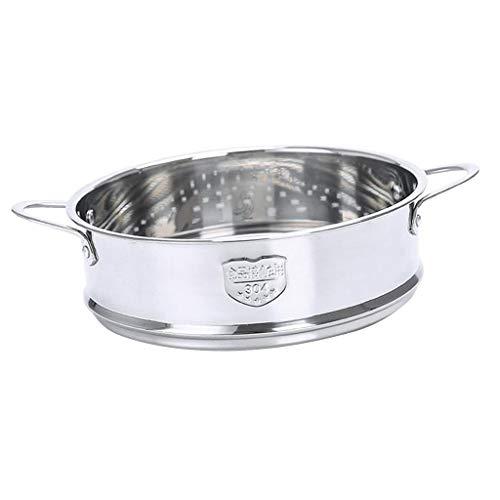 F Fityle Pot Casserole Outil INOX Vapeur Tiroir Panier de Légumes Durable - 20cm