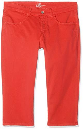 MAC Jeans Damen Capri Summer clean Shorts, Rot (Chili PPT 891r), W31(Herstellergröße: 40/19)