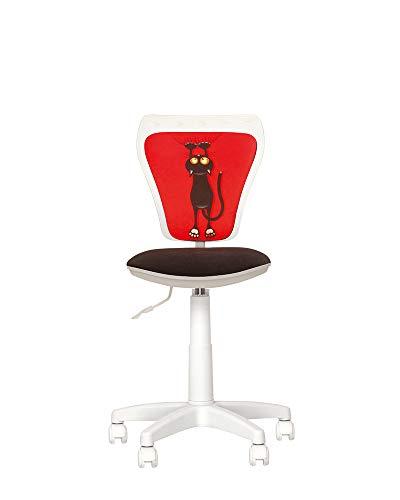 Chaise-Expert Ministyle Silla de escritorio infantil Giratoria 360°. Altura regulable. Respaldo regulable en altura, asiento regulable en profundidad.