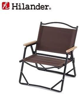 Hilander(ハイランダー) アルミデッキチェアブラウン