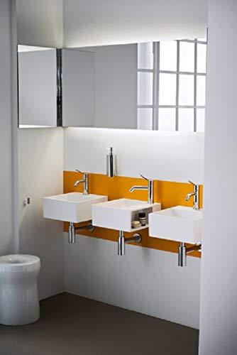 Agape Lavabi Handwash Waschbecken Squadratisch mit 1 Loch ACER09941RZ