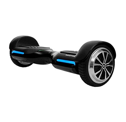 Swagtron T580 App-Enabled Hoverboard w/Speaker Smart Self-Balancing Wheel - Available on iPhone & Android