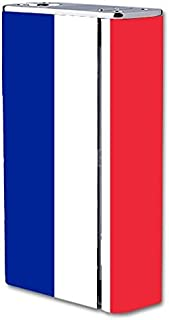Smok X Cube II 160W TC Vape E-Cig Mod Box Vinyl DECAL STICKER Skin Wrap / Flag Of France Design