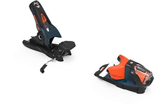 LOOK - Fixations De Ski Spx 12 Gw B120 Petrol/Orange - Homme - Taille Unique - Noir
