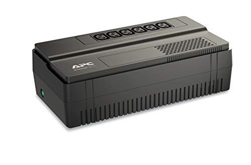APC BV650I Easy-UPS BV - Sistema de alimentación ininterrumpida (SAI), 650VA, AVR, 6 salidas IEC