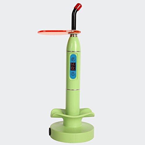 Pandalife A180A - Lámpara fotopolimerizadora multicolor 1500 mw Lamp Wireless, Verde