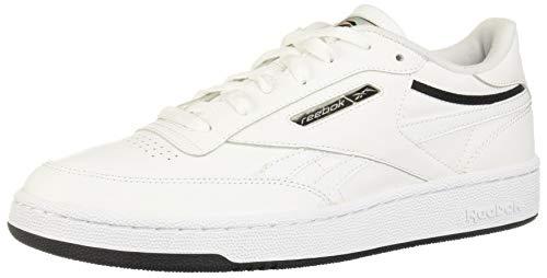 Reebok Herren EG4286 Sneaker, Blanco/Negro/Plata Metálico, 42 EU