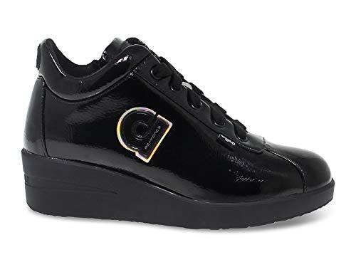 Luxury Fashion | Ruco Line Dames RUCO226AVN Zwart Lak Sneakers | Herfst-winter 19