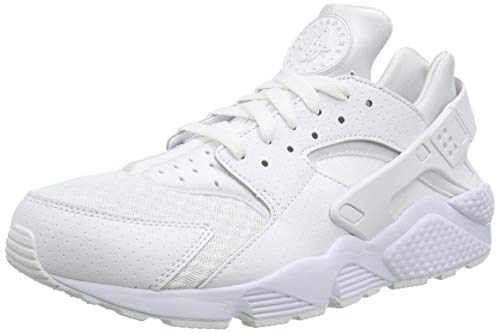 Nike Men's Air Huarache Running Shoes White/White/Pure Platinum 14
