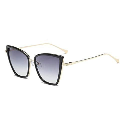 ZZOW Moda Ojo De Gato Mujeres Gafas De Sol De Lujo Vintage Diseñador De La Marca Gradiente Espejo Reflectante Gafas Hombres Gafas Uv400