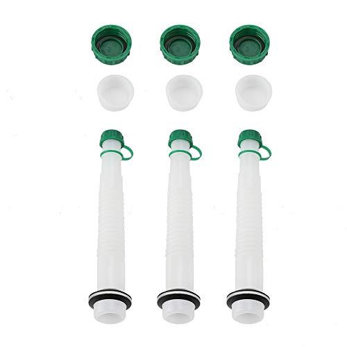 Fdit 3 Pcs Gaz De Rechange Peut Carburant Bouchon De Bec Kit Jardin Machines Industrielles Refuel Outil(1L)