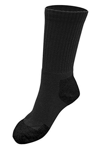 OCTAVE® Chaussettes de randonnée rembourrées pour femme – 1 paire, 3 paires ou 6 paires - Gris - 39/46 EU