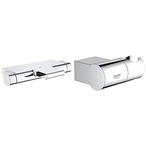 GROHE Grohtherm 2000 Thermostat-Wannenbatterie, GROHE EasyReach Ablage 34464001