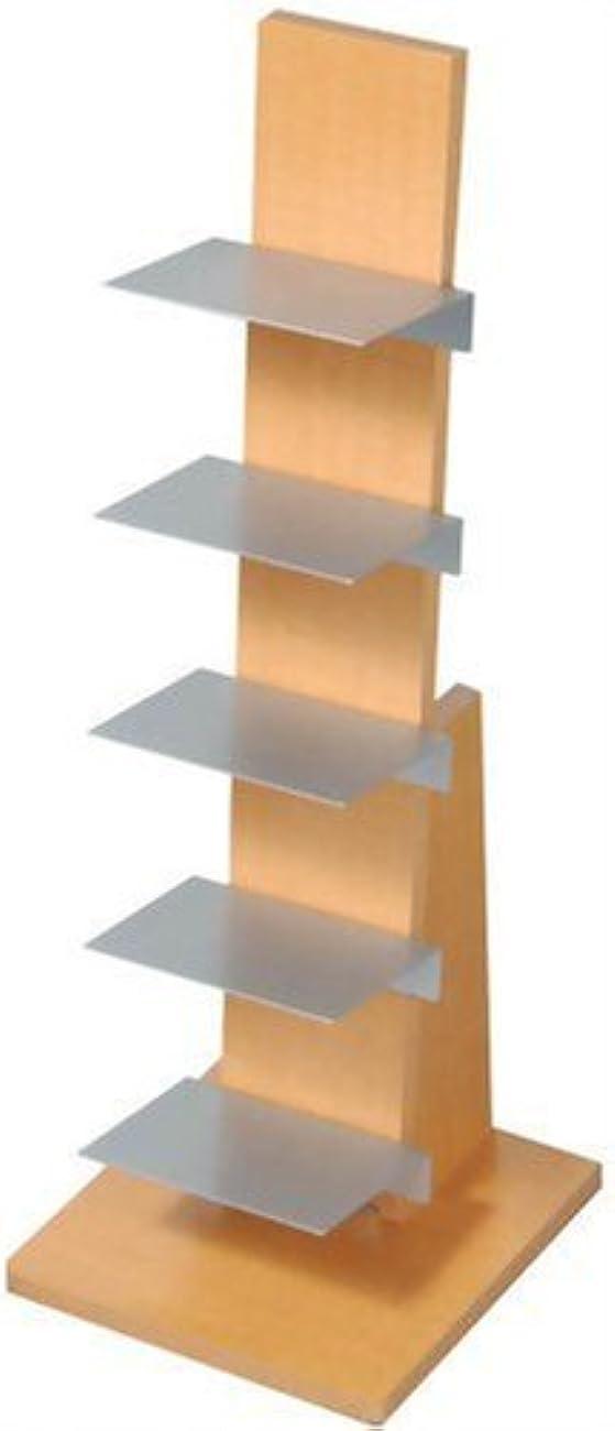 ジョガー優雅な最少オークス ブックタワー ロータイプ L54NA ナチュラル