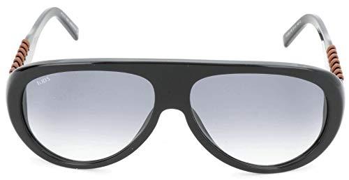 TOD'S Tods zonnebril TO0209-01B-57 Aviator zonnebril 57, zwart