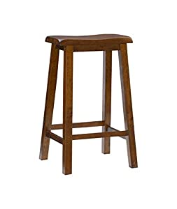 Cool Buy Powell Honey Brown 29 Inch Bar Stool Kagachimallstwice Squirreltailoven Fun Painted Chair Ideas Images Squirreltailovenorg