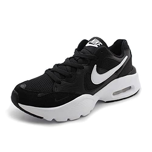 Nike Air Max Fusion Sneakers Donne Nero/Bianco - 38 1/2 - Sneakers Basse