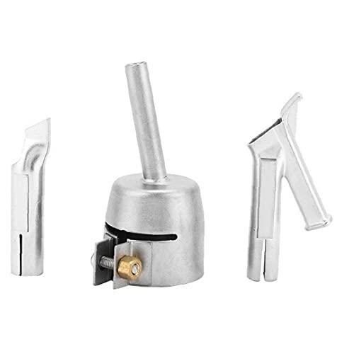 Velocidad de soldadura boquilla de punta de la Ronda Boquillas rápidos para plástico PVC caliente del soplador de aire con la boquilla hacia Tacking Y Tipo Soldador Consejos 3PCS