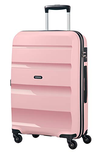 American Tourister Bon Air - Spinner Medium Equipaje de Mano, 66 cm, 57.5 Liters, Rosa (Cherry Blossoms)