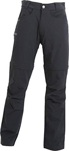 Dobsom Dovre Pants Outdoorhose atmungsaktiv Zipp Off Funktion 4 Wege Stretch (schwarz, XS)