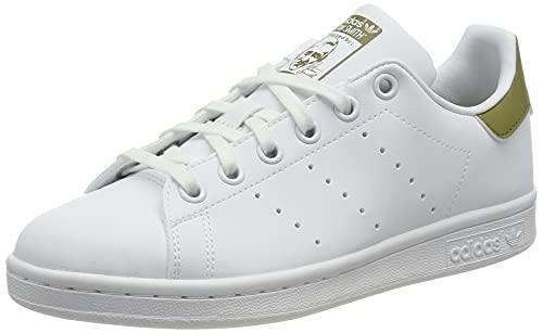 adidas Stan Smith, Sneaker, Footwear White/Footwear White/Wild Moss, 38 EU